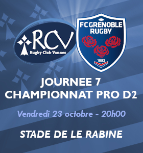 RC VANNES - FC GRENOBLE RUGBY